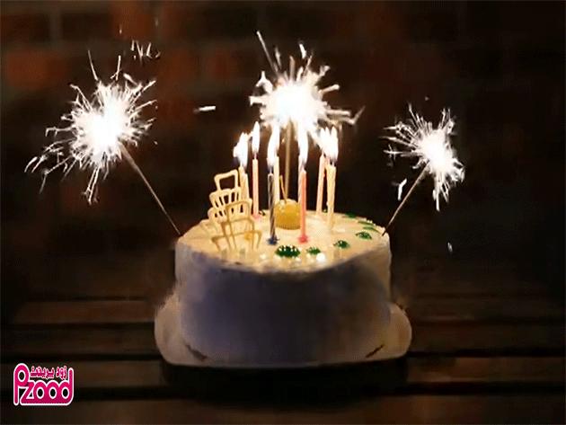 تبریک تولد طرح کیک
