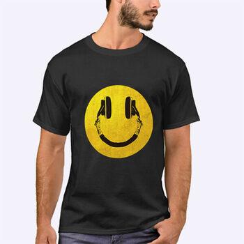 تیشرت طرح لبخند