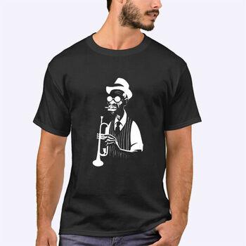 تیشرت طرح موزیک جاز