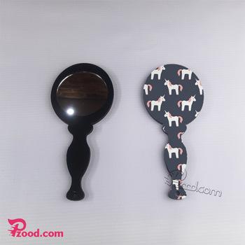 چاپ آینه آرایشی فانتزی با طرح دلخواه