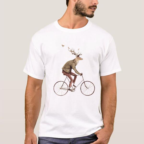 گوزن دوچرخه سوار
