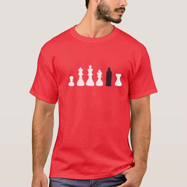 تیشرت شطرنج