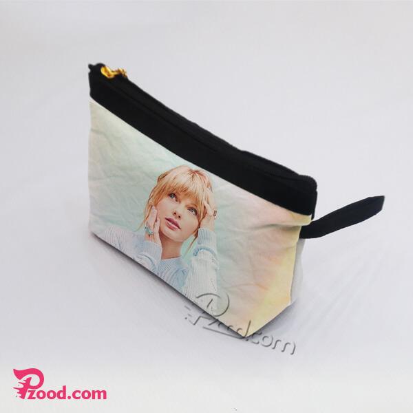 چاپ کیف لوازم آرایش با طرح دلخواه