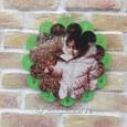 چاپ ساعت دیواری کودک طرح گلبرگ