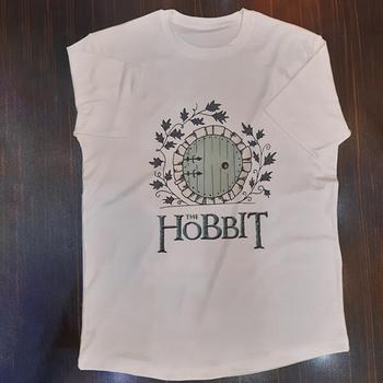 نمونه چاپ شده تیشرت طرح هابیت